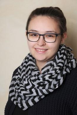 Erika Budarin Auszubildende Kauffrau für Büromanagement